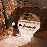 A general view at the  historical and archaeological city of petra in southern Jordan, may 13, 2013. Photo by Oren Nahshon