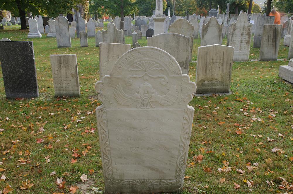 Old First Church, cemetery, Bennington Vermont