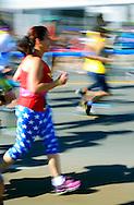 NYC Marathon runner. 2016.