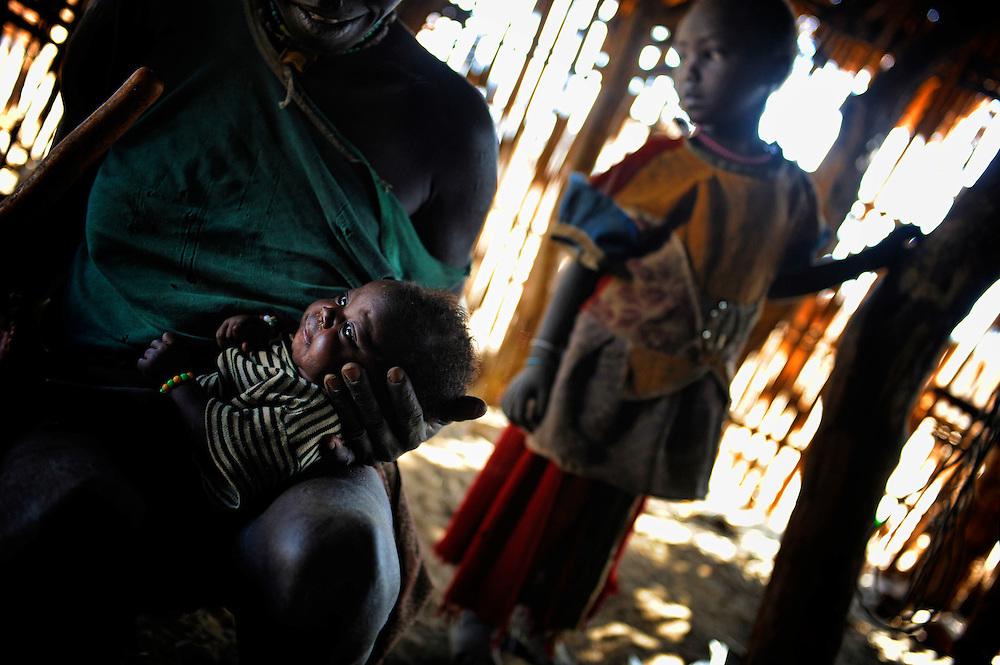 Ethiopia, Gilgel Beles, Jimteha, child Gumuz, Gilgel, Blese, valley, Africa, Ethiopia, Sudan border Beles