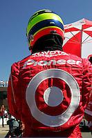 Ryan Briscoe at the Michigan International Speedway, Firestone Indy 400, July 31, 2005