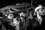 Freedom of Speech protest following the murder of journalist Giorgi Sanaia. Tbilisi. 2001