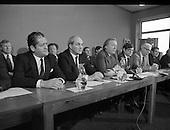 1982 - January-Fianna Fail Front Bench Press Conference