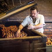Pablo Garcia, pitmaster. Smitty's Market Lockhart, Texas