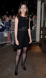 Anna Maderley attends The 10th What's On Stage Awards at The Prince Of Wales Theatre, London on Sunday 15  February 2015