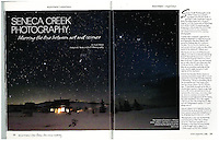 """Spotlight on Seneca Creek Photography in 2013 issue of Wyovore, the bookstore compliment to Wyoming Lifestyle Magazine and featured as spotlight article entitled """"Seneca Creek Photography explores Wyoming."""" Available for purchase at http://www.wyovore.com/"""