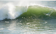 Storm swell in the winter 2011, off Monahan's Dock in Narragansett, RI
