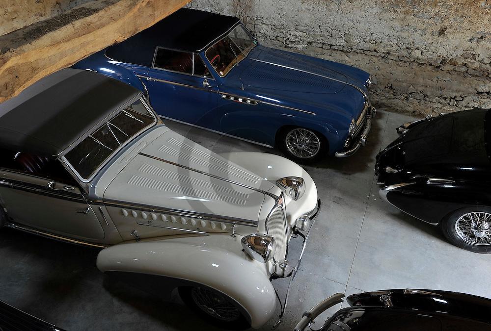 13/12/10 - CHAROLLES - SAONE ET LOIRE - FRANCE - Automobiles Classic et Collection du Chateau de La Clayette  - Photo Jerome CHABANNE