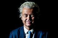 DEN HAAG - Portret van Geert Wilders, lijsttrekker van de Partij voor de Vrede (PVV).  portret van geert wilders  pvv copyright robin utrecht