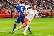 AMSTERDAM - Nederland - USA , Amsterdam ArenA , Voetbal , oefeninterland , 05-06-2015 , Nederlands elftal speler Klaas Jan Huntelaar viert zijn doelpunt