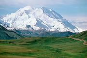 Denali National Park, Alaska, USA<br /> Mt. McKinley and the Alaska Range<br /> From Stoney Dome Lookout.<br /> &copy;2000 Brett Baunton