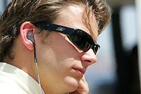 Dan Wheldon at the Kentucky Speedway, Kentucky Indy 300, August 14, 2005