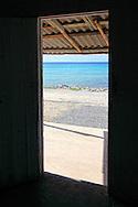 House interior in La Bajada, Pinar del Rio, Cuba.