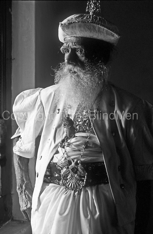Gentleman in Kandyan dress for the Kandy Perahera.