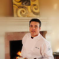 Chef Kris Utz,Black Walnut Inn & Vineyards,Dundee Hills,Winery near Dundee,Wine Country,Oregon,USA.(release nr. 0009,0144,)