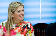 30-3-2015 YANGON MYANMAR -  Queen Maxima Gesprek met microfinancieringsinstituten:<br /> 	- World Vision;<br /> 	- PGMF;<br /> 	- Save the Children;<br /> 	- Proximity Design;<br /> 	- LIFT;<br /> 	- Myanmar Finance International;<br /> 	- Myanmar development partners.<br /> Dessallien  Vn coordinator voor de vn t UNDP compound Queen Maxima visits in its capacity as special advocate of the Secretary-General of the United Nations for inclusive finance for development (inclusive finance for development) Myanmar on Monday, March 30 to Wednesday, April 1st, 2015. COPYRIGHT ROBIN UTRECHT
