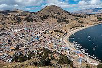 Copacobana by Titicaca lake