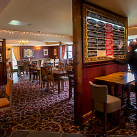 Smithfield Bell pub, Welshpool.<br /> Interiors,Exteriors,Pizza area,customers.<br /> &copy; Stonehouse Photographic