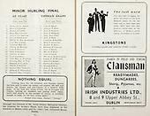 01.09.1946 All Ireland Senior Hurling Final