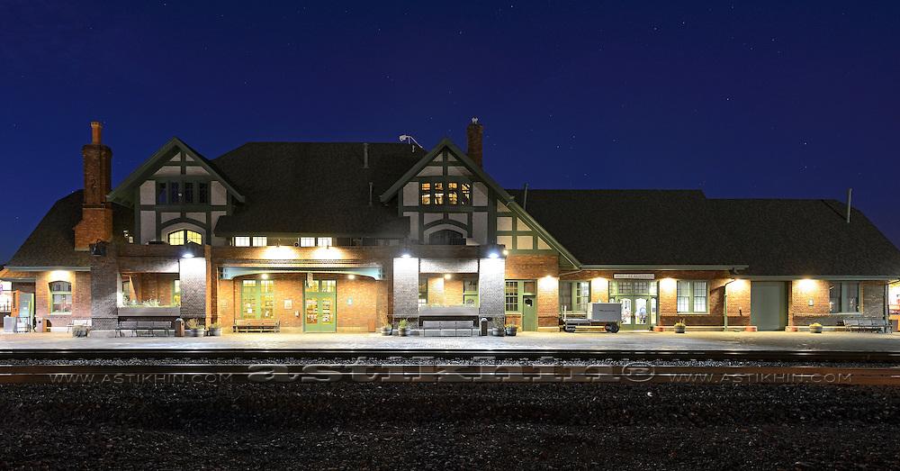 Railroad Station in Flagstaff, AZ.