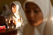 School girl in Banda Aceh. Februray 2006. Martine Perret