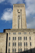 Georges Dock Building in Liverpool, a fine art deco building near the River Mersey