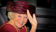 Prinses Beatrix bij de Max van der Stoel Award