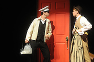 "Oxford High Theatre Department rehearses the play ""39 Steps"" in Oxford, Miss. on Tuesday, September 13, 2011."
