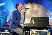 MUTEMATH performs at Nokia Theater in Times Square, New York. November 13, 2009.
