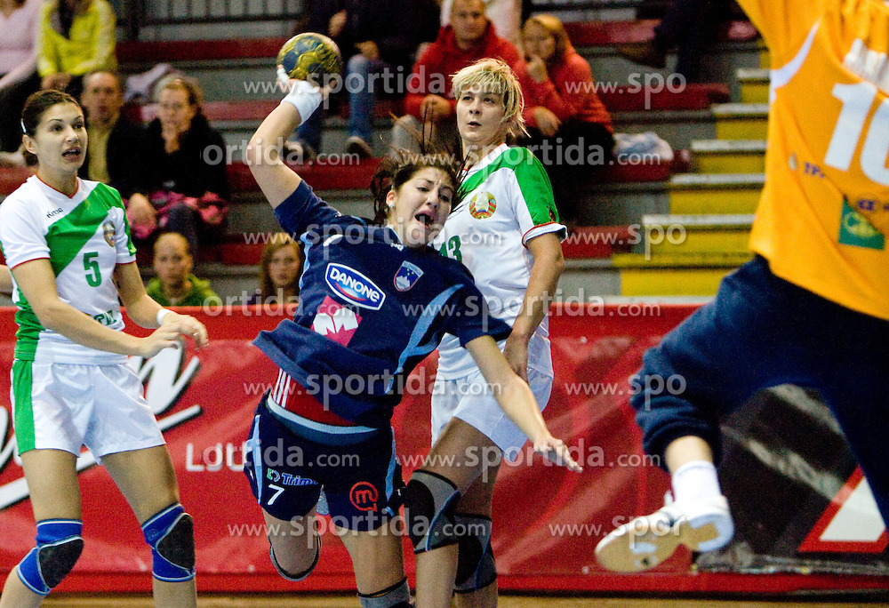 Maja Son of Slovenia at Women European Championships Qualifying handball match between National Teams of Slovenia and Belarus, on October 17, 2009, in Kodeljevo, Ljubljana.  (Photo by Vid Ponikvar / Sportida)