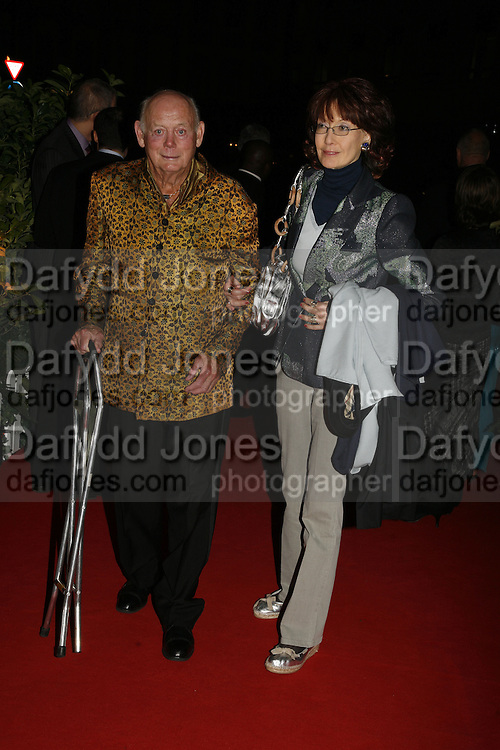 Lord and Lady Montagu, Opening of Spamalot at the Night Palace Theatre and afterwards at Freemasons Hall Gt. Queen St.  London. 17 October 2006. -DO NOT ARCHIVE-© Copyright Photograph by Dafydd Jones 66 Stockwell Park Rd. London SW9 0DA Tel 020 7733 0108 www.dafjones.com