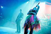 Evanescence performs a secret show at Manhattan Center Grand Ballroom, New York. November 4, 2009