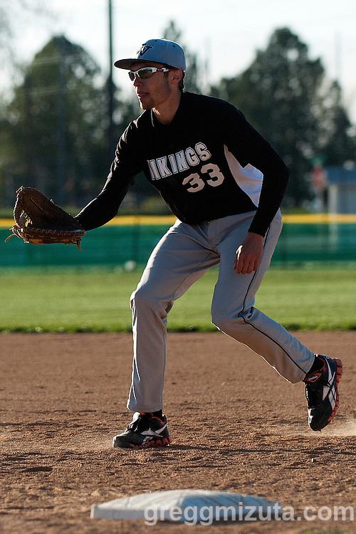 Vale Parma softball game, April 15, 2014 at Parma, Idaho.