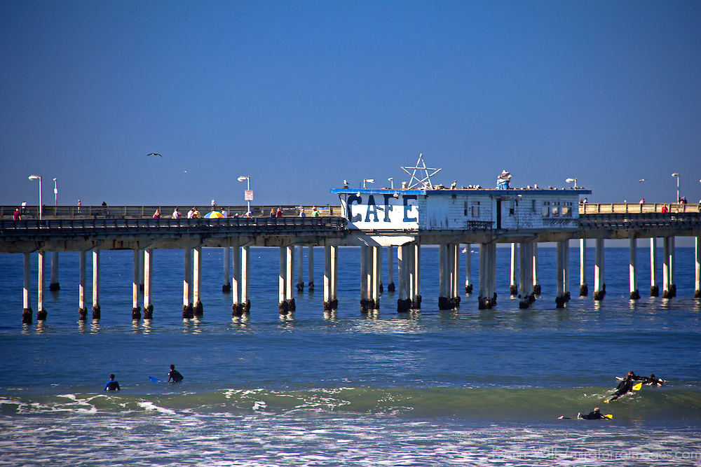 USA; California; San Diego. Ocean Beach Pier.