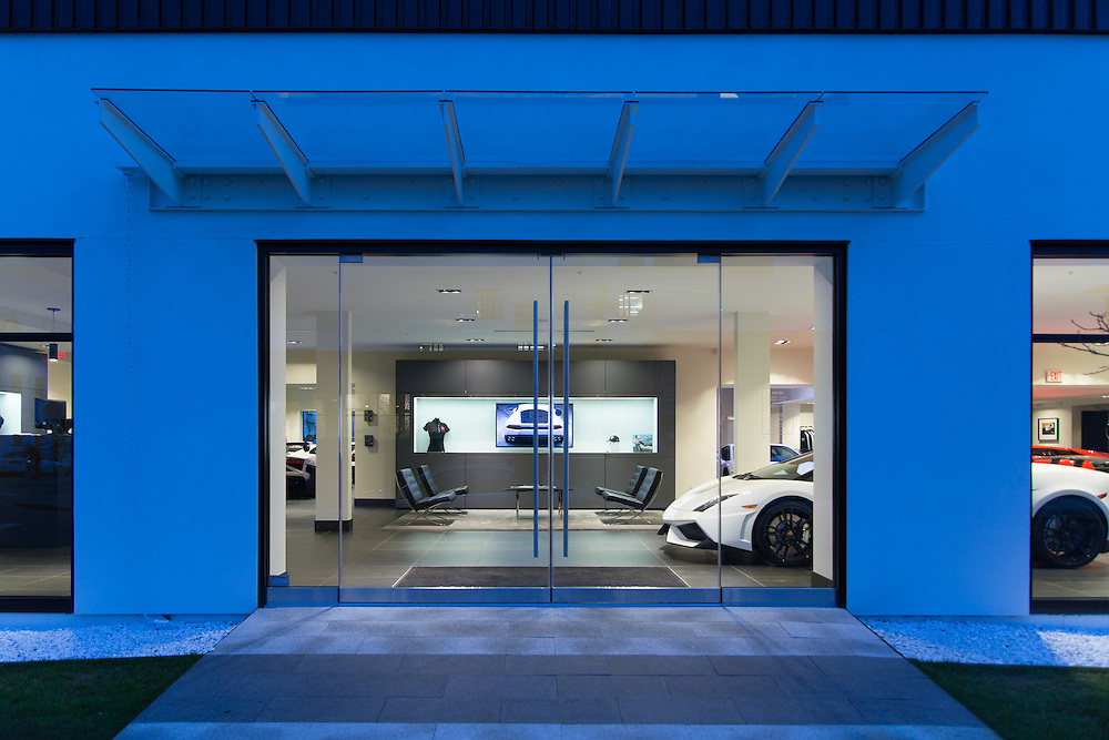 Lamborghini showroom and dealership   Armoury District, Vancouver, BC