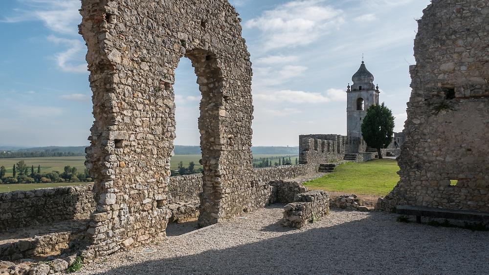 Castelo do Montemor -o-Velho, Portugal.