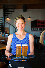 Fort George Brewery Astoria, Oregon Photos - Stock images