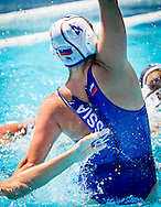 4 KARIMOVA Elvina RUS<br /> Russia (White) Vs France (Blue) Women<br /> LEN European Water Polo Championships 2014 - July 14-27<br /> Alfred Hajos -Tamas Szechy Swimming Complex<br /> Margitsziget - Margaret Island<br /> Day06 - July 20<br /> Photo Pasquale Mesiano/Inside/Deepbluemedia