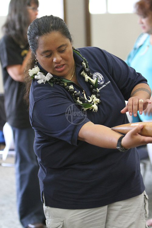 Makahiki-Themed Games & Activities at the 3rd Annual Live Aloha Hawaiian Cultural Festival at Seattle Center on September 12, 2010.