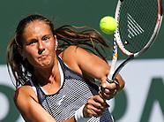 Tennis: BNP Paribas Open 2016 Daria Kasatkina vs Karolina Pliskova