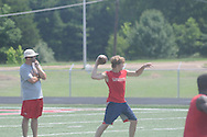 Lafayette High 7-on-7 football in Batesville, Miss. on Monday, June 24, 2013.