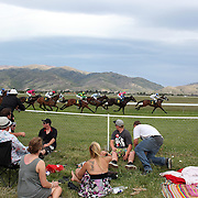 A day at the Races...Cromwell, New Zealand