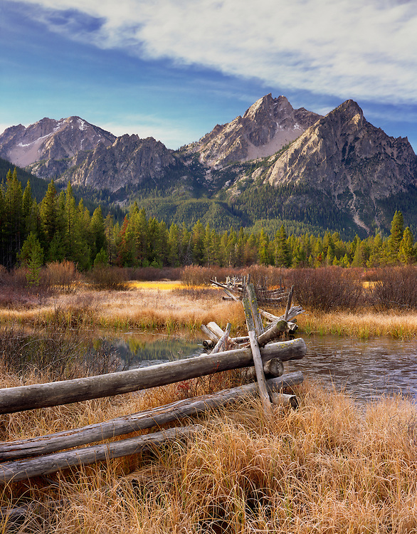 McGown Peak, Sawtooth Mountains Idaho USA