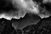 Tatra National Park , view from Kasprowy Wierch to east , Poland , photo by Piotr Gesicki