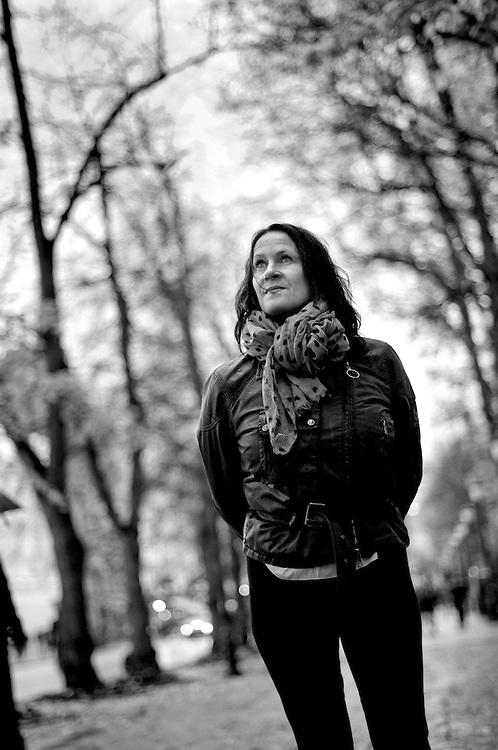 Norwegian writer Vigdis Hjort photographed in Oslo.Photographer: Chris Maluszynski /MOMENT