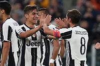 23.04.2017 - Torino - Serie A 2016/17 - 33a giornata  -  Juventus-Genoa nella  foto: Paulo Dybala e Claudio Marchisio esultano dopo il gol dell' 1 a 0
