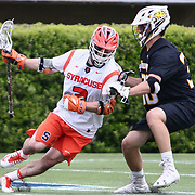 Syracuse Midfielder NATE SOLOMON (3) in action during the second half of a 2017 NCAA Division I Men's Lacrosse Quarterfinals game between unranked Towson and #2 Syracuse Sunday, May. 21, 2017 at Delaware Stadium in Newark, Delaware.