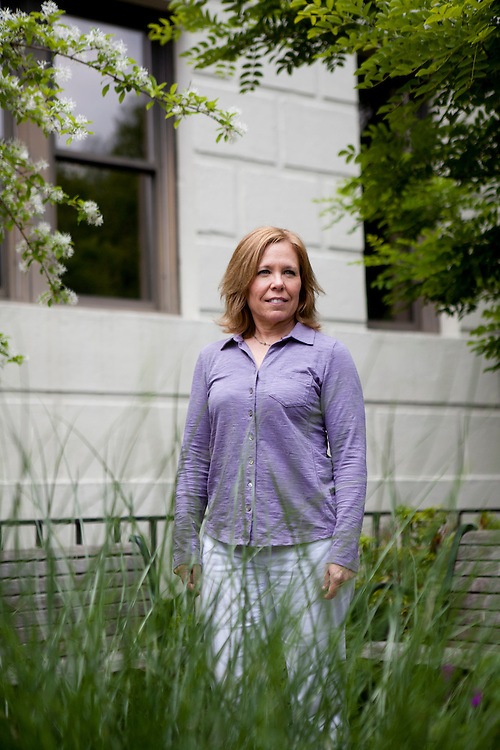 Lacey Wootton poses for a portrait on the American University campus on Wednesday, May 4, 2011 in Washington, DC.