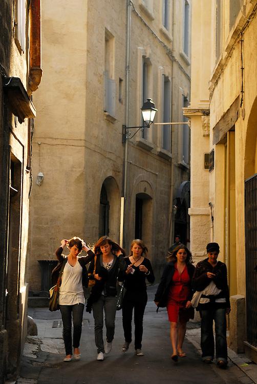France, Languedoc Roussillon, Hérault (34), Montpellier, centre historique