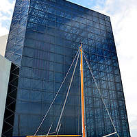 John F. Kennedy Presidential Library and Museum in Boston, Massachusetts<br /> On John Kennedy&rsquo;s 15th birthday, his parents gave him a 26 foot Wianno Senior sailboat he called Victura.  It was the first of many boats that he&rsquo;d captain, including the PT 109, a 92 foot Presidential yacht called Honey Fitz and a 62 foot sailboat called the Manitou.  But it&rsquo;s said he loved his first boat best.  The night before he died, he doodled an image of it on stationery from the Rice Hotel in Houston.  The boat, hull number 94, is now proudly displayed outside the John F. Kennedy Presidential Library in Boston, Massachusetts.